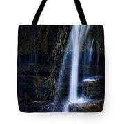Small Waterfall Tote Bag by Tom Mc Nemar