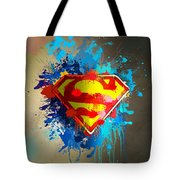 Smallville Tote Bag by Anthony Mwangi