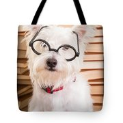 Smart Doggie Tote Bag by Edward Fielding