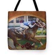 Smarty Jones Tote Bag by Betty LaRue