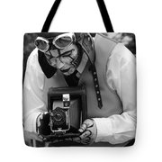 Smile For The Camera Tote Bag by Kym Backland