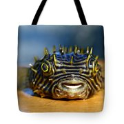 Smiley Tote Bag by Laura Fasulo