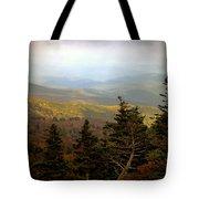 Smokey Mountain High Tote Bag by Karen Wiles
