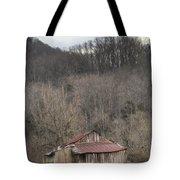 Smoky Mountain Barn 1 Tote Bag by Douglas Barnett