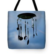 Smoky Mountain Windchime Tote Bag by Christi Kraft