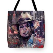 Smooth Criminal Tote Bag by MB Art factory