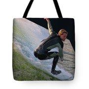 Smooth Ride Tote Bag by Mariola Bitner