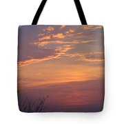 Smooth Sunset Tote Bag by Leticia Latocki