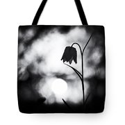 Snakes Head Fritillary Monochrome Tote Bag by Tim Gainey