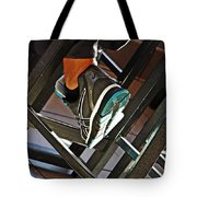 Sneaker Tote Bag by Sarah Loft