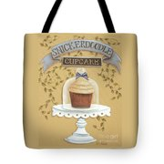Snickerdoodle Cupcake Tote Bag by Catherine Holman