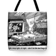 Snoozer Sleep Lab Study Tote Bag by Jack Pumphrey