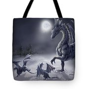 Snow Day Tote Bag by Rob Carlos