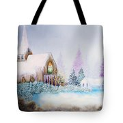 Snow in Florida Tote Bag by David Kacey