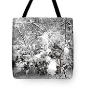 Snow Scene 4 Tote Bag by Patrick J Murphy