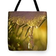 Snowdrop Crystal Tote Bag by Sharon Talson
