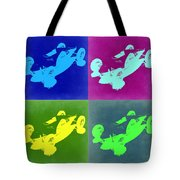 So Cal Belly Tanker Tote Bag by Naxart Studio