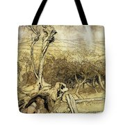 So Nobody Can Quite Explain Exactly Where the Rainbows End Tote Bag by Arthur Rackham