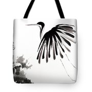 Soaring High Tote Bag by Oiyee  At Oystudio