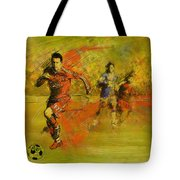 Soccer  Tote Bag by Corporate Art Task Force