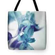 Soft Blues Tote Bag by Priska Wettstein