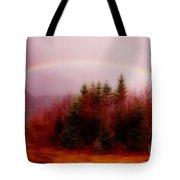 Soft Cape Breton Rainbow Tote Bag by John Malone