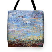 Soil Turmoil Tote Bag by James W Johnson