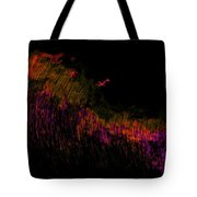 Solar Flare Tote Bag by Christopher Gaston