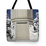 Soldiers Monument Detail Tote Bag by Paul W Faust -  Impressions of Light