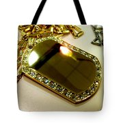 Some Shiny Thing Tote Bag by Marcello Cicchini