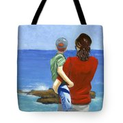 Son Of A Sailor Tote Bag by Karyn Robinson