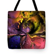 Song Of The Cosmos Tote Bag by Claude McCoy