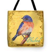 Colorful Songbirds 1 Tote Bag by Debbie DeWitt