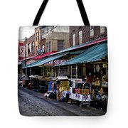 South Philly Italian Market Tote Bag by Bill Cannon