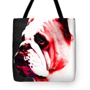 Southern Dawg By Sharon Cummings Tote Bag by Sharon Cummings