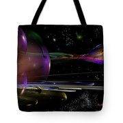 Space Abstraction Tote Bag by David Lane