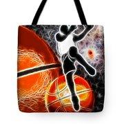 Space Slam  Tote Bag by David G Paul