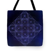 Space Time Sine Cosine And Tangent Waves Tote Bag by Jason Padgett