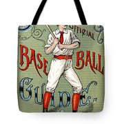Spalding Baseball Ad 1189 Tote Bag by Unknown