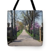 Spendthrift Farm Entrance Tote Bag by Roger Potts