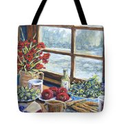 Spice Table By Prankearts Tote Bag by Richard T Pranke