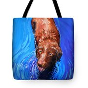 Spin Cycle Tote Bag by Molly Poole
