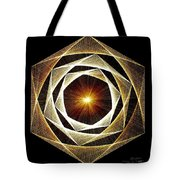 Spiral Scalar Tote Bag by Jason Padgett
