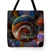 Spiraling The Vatican Staircase Tote Bag by Robin Moline