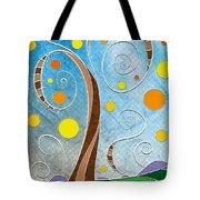 Spiralscape Tote Bag by Shawna Rowe