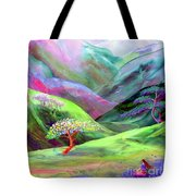 Spirit Of Spring Tote Bag by Jane Small