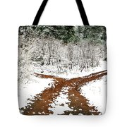 Split Decision Tote Bag by Marilyn Hunt
