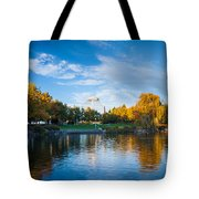 Spokane Reflections Tote Bag by Inge Johnsson