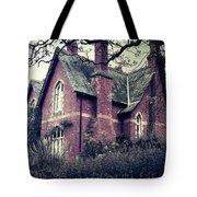 Spooky House Tote Bag by Joana Kruse
