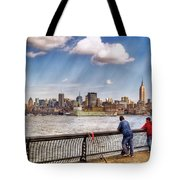 Sport - Fishing Tote Bag by Mike Savad